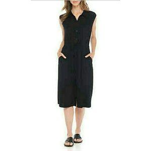 Eileen Fisher Button Down Classic Dress